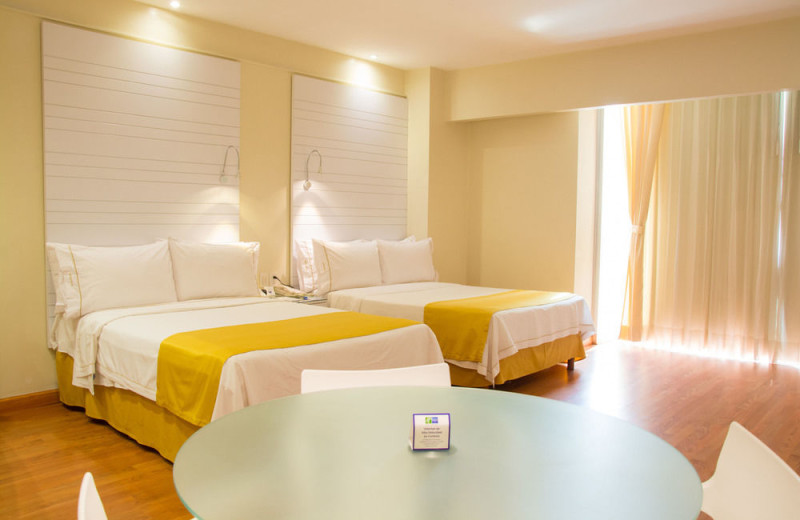 Guest room at Holiday Inn Express Hotel and Suites Mexico City at WTC.