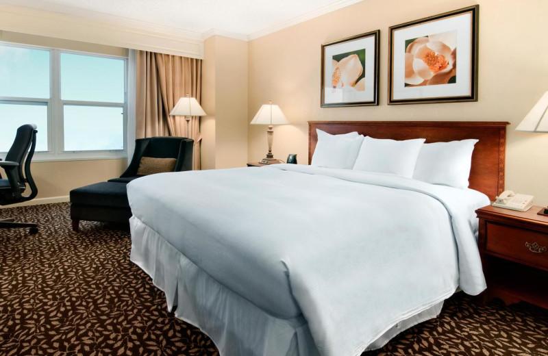 Guest room at Hilton Atlanta/Marietta Hotel
