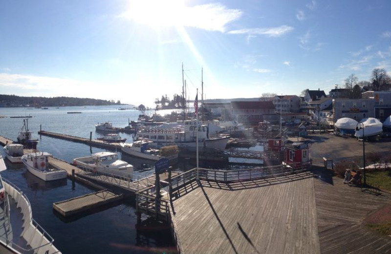 Boat Docks at Fisherman's Wharf Inn