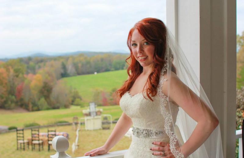 Bride at Dahlonega Spa Resort.