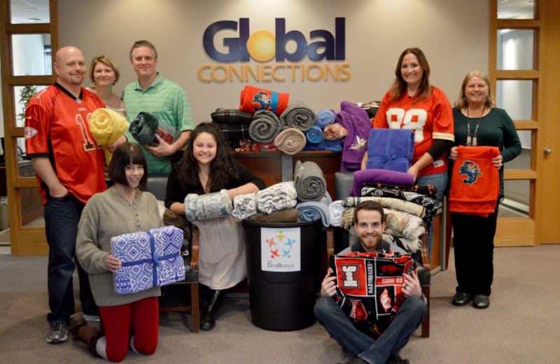 Staff at Global Connections Inc.