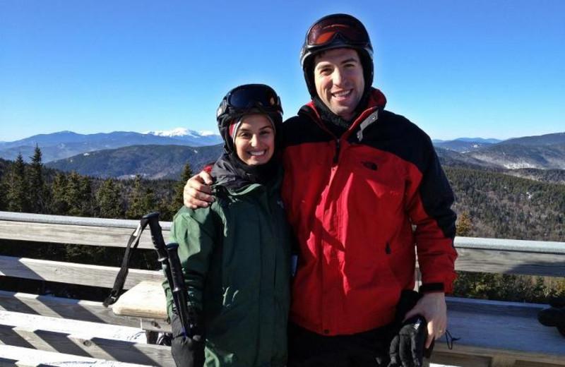 Skiing at River View Resort