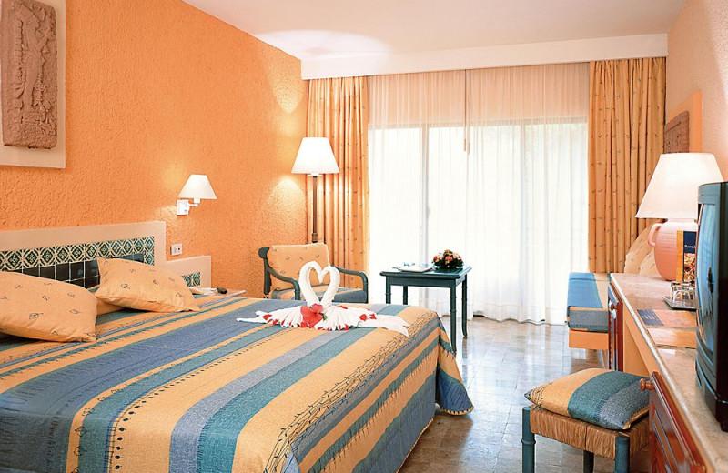 Guest room at Iberostar Tucan.