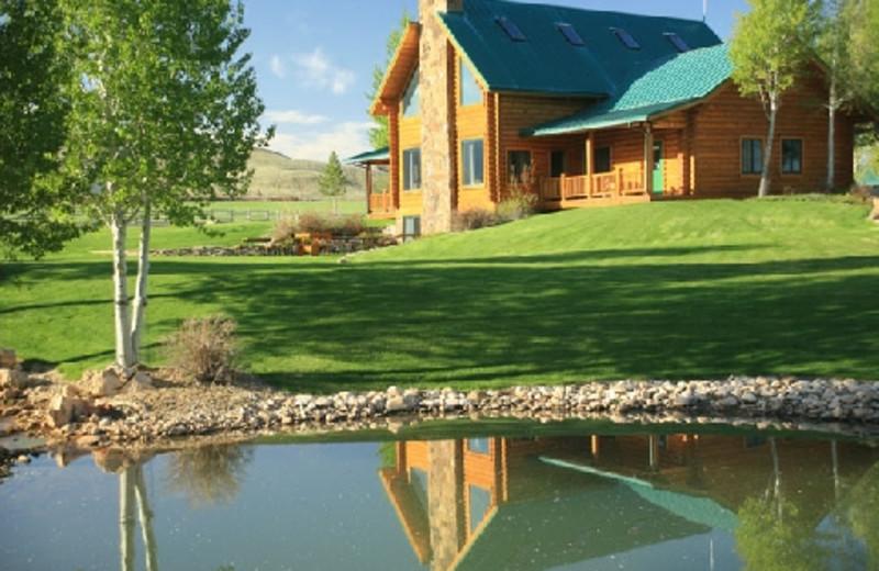 Exterior view of The Hideout Lodge & Guest Ranch.