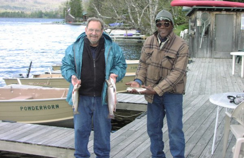 Fishing Friends at Powder Horn Lodge