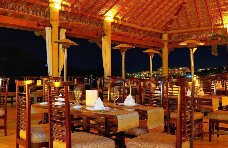 Dining at Casa Dorada Los Cabos Resort & Spa.