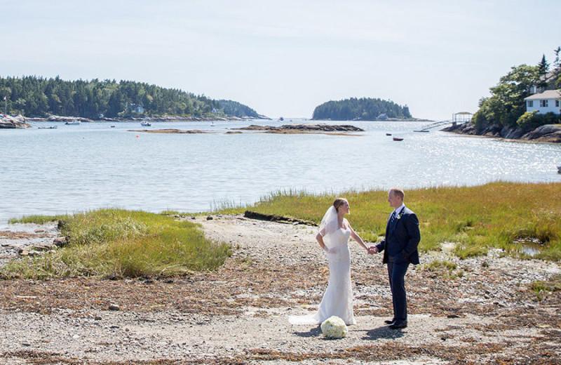 Weddings at Sebasco Harbor Resort.