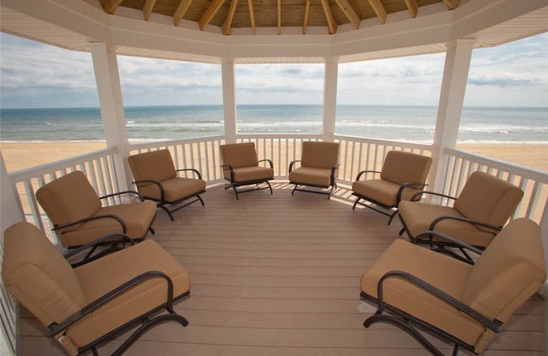 Rental porch at Sandbridge Realty.