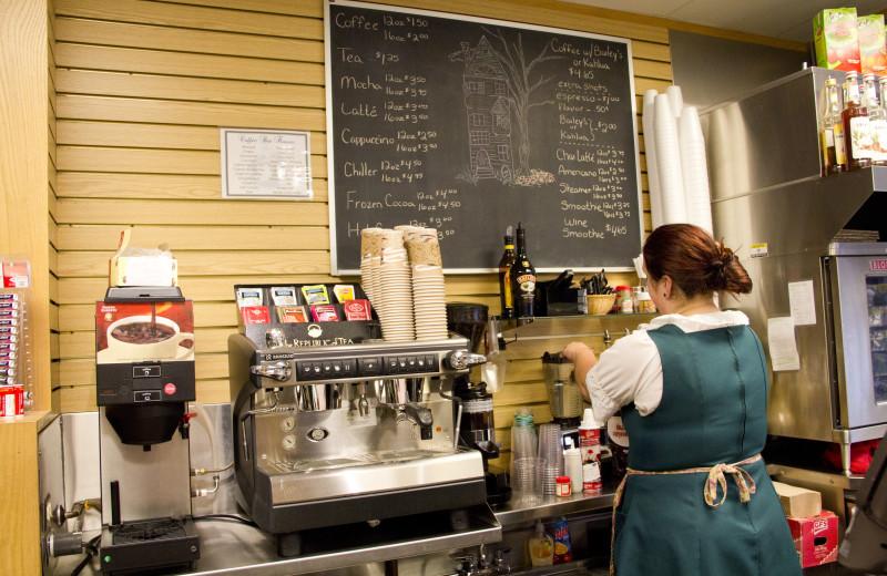 Cafe at Bavarian Inn of Frankenmuth.