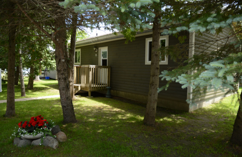 Cabin exterior at Sunnylea