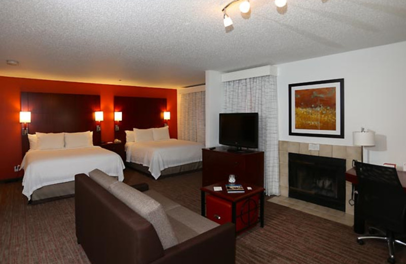 Guest room at Residence Inn Livermore Pleasanton.