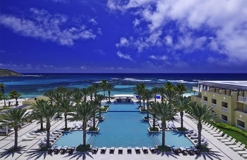 Infinity pool at The Westin Dawn Beach Resort.
