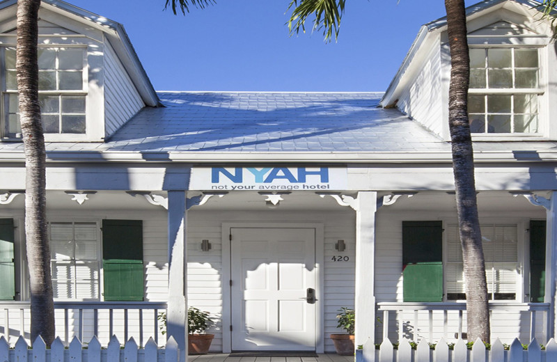 Exterior view of NYAH Key West.