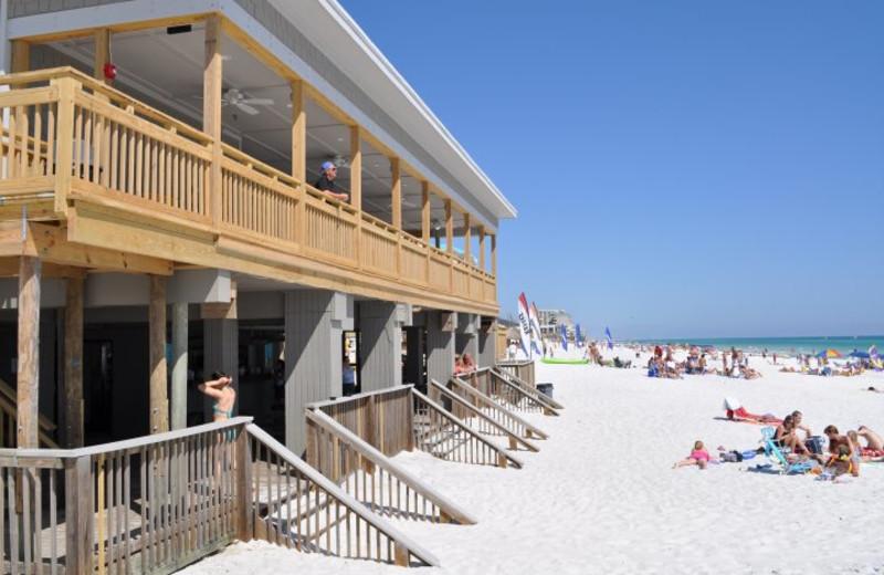 Exterior view at Seascape Resort.