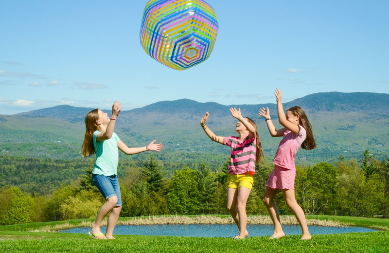 Kids activities at Trapp Family Lodge.