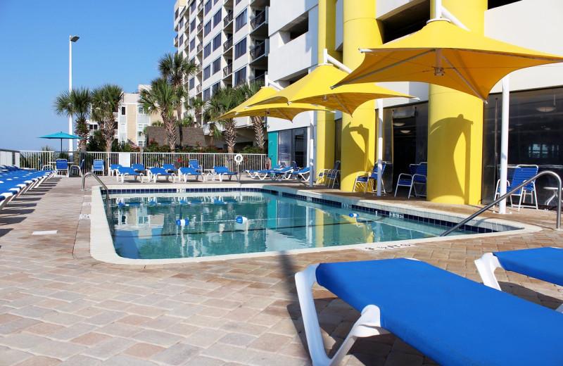 Pool at Seaside Resort.
