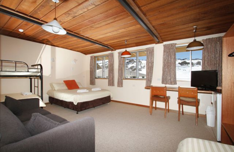 Guest room at Eiger Chalet.