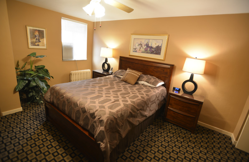 Bedroom - massive 5 room Two Bedroom apartment suite  at Friendship Suites.