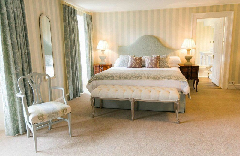 Guest room at Kitley House Hotel.