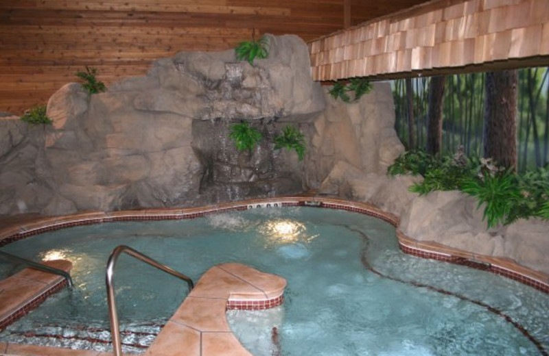 Hot tub at Holiday Inn Express Brainerd.