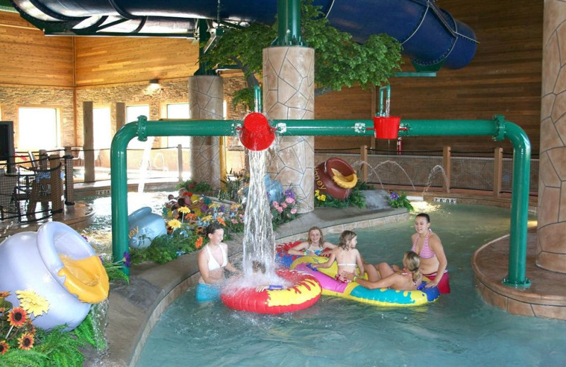 Lazy river at Holiday Inn Express Brainerd/Baxter.
