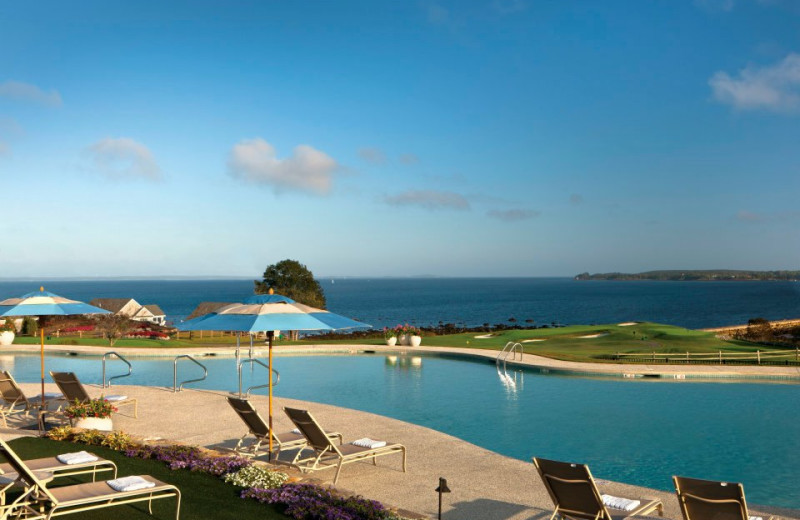 Outdoor Pool at The Samoset Resort