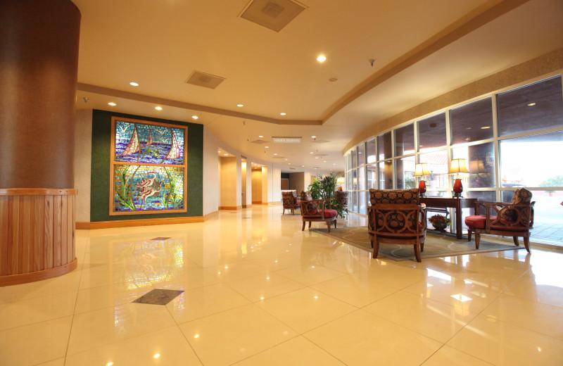 The lobby at Perdido Beach Resort.