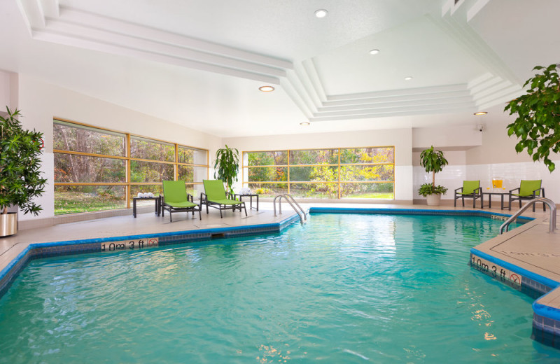 Indoor pool at Holiday Inn Laval - Montreal.