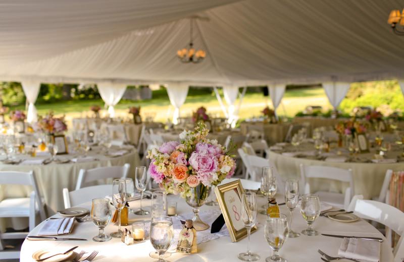 Wedding reception at The Inns of Aurora.
