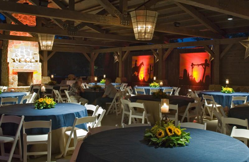 Pavilion wedding reception at Hyatt Regency Lost Pines Resort and Spa.