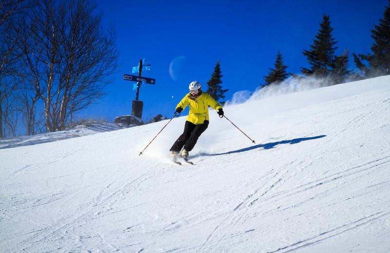 Ski near Black Bear Lodge.
