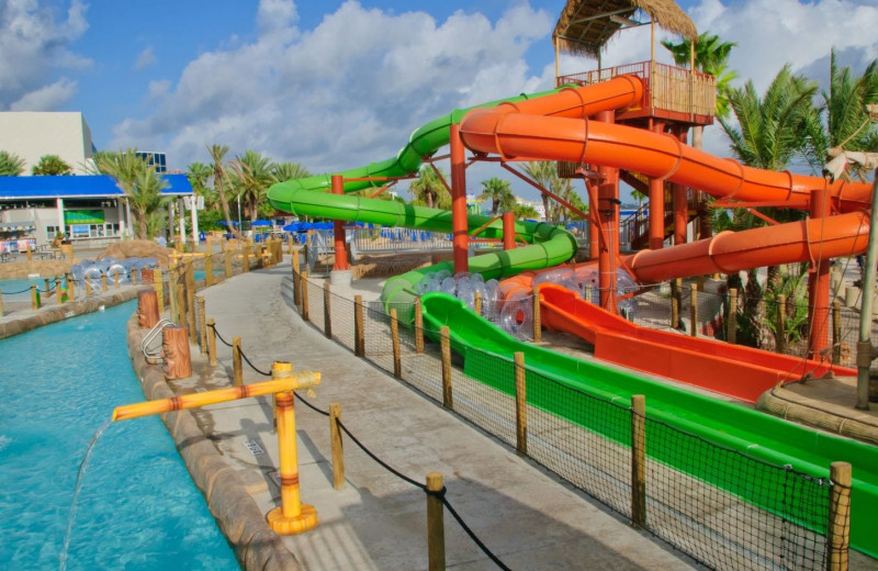 Water park at Moody Gardens Hotel Spa & Convention Center.