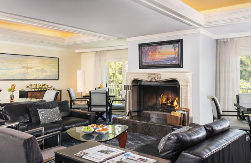 Guest room at The Ritz-Carlton, Laguna Niguel.