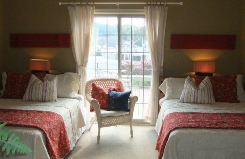 Guest Room at the Inn on the Harbour & Little Inn