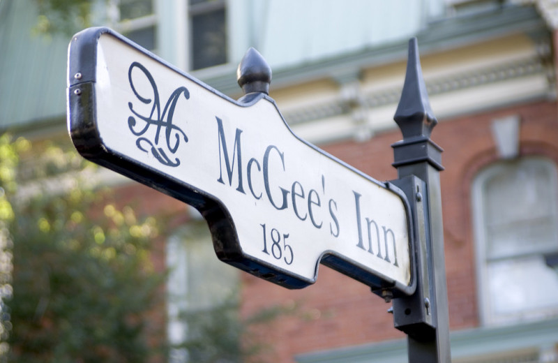 Welcome to McGee's Inn.