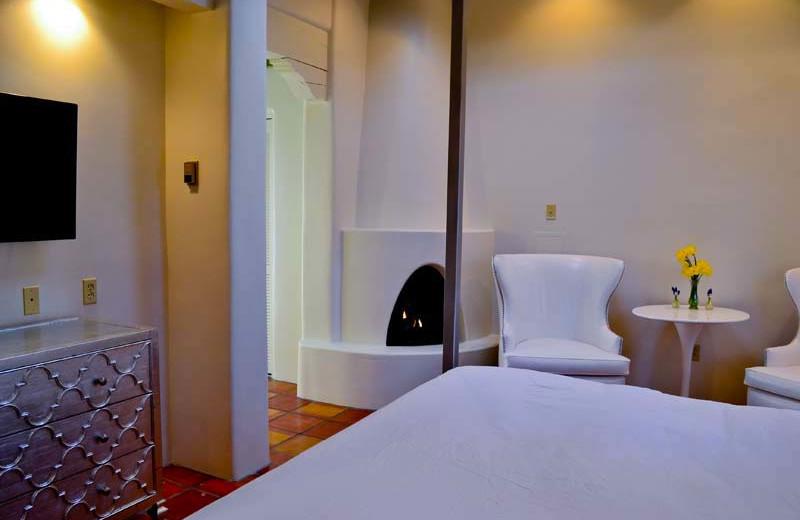 Guest room at Palacio de Marquesa.