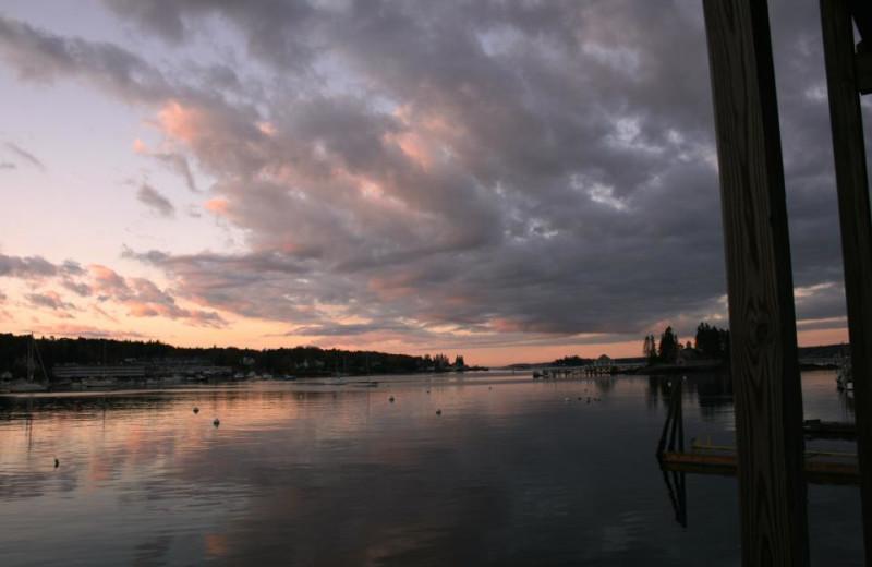 Sunset at Fisherman's Wharf Inn