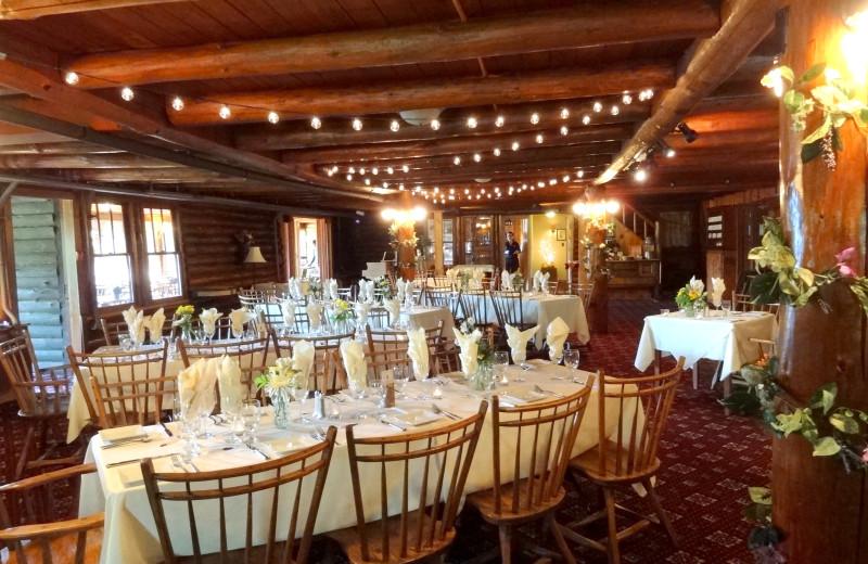 Dining Room at Garnet Hill Lodge