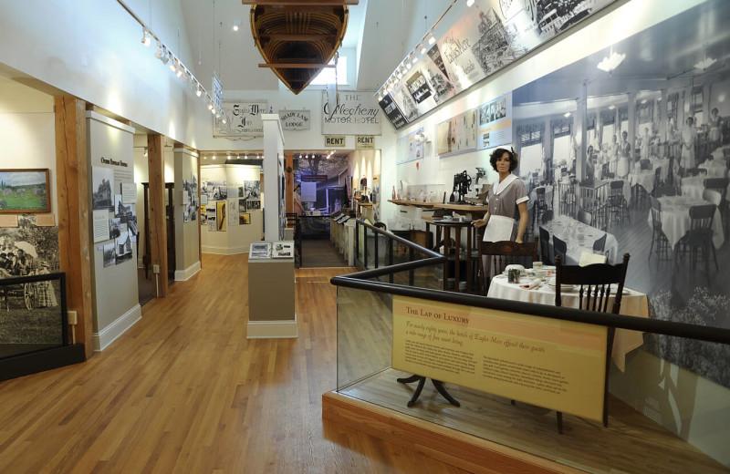 Museum near Eagles Mere Inn.