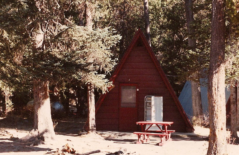 Cabin Exterior at Silver Creek Plunge