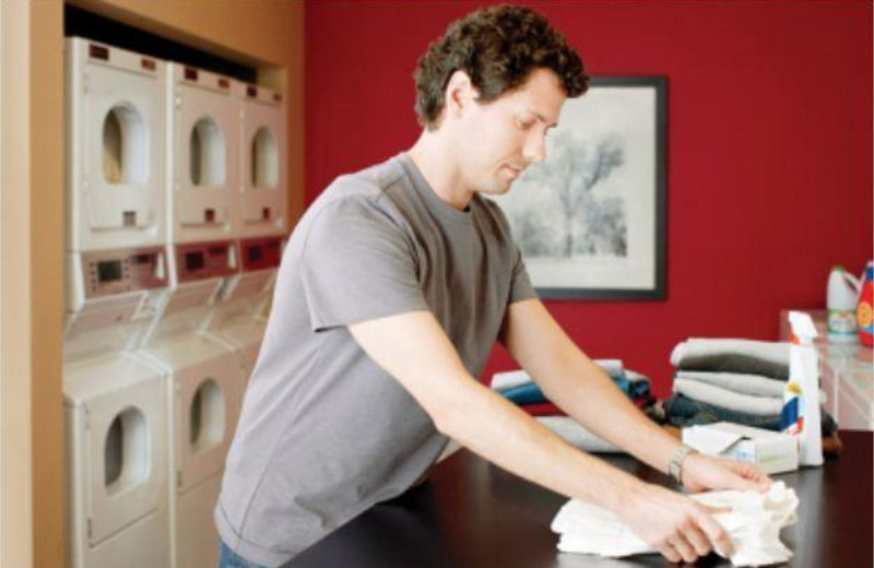 Laundry facilities at Extended Stay Deluxe Dallas - Las Colinas - Green Park Dr.