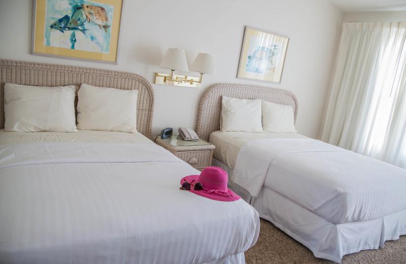 Rental bedroom at The Winds Resort Beach Club.