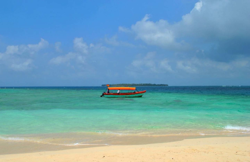 Beach at Bocas Bali Resort.