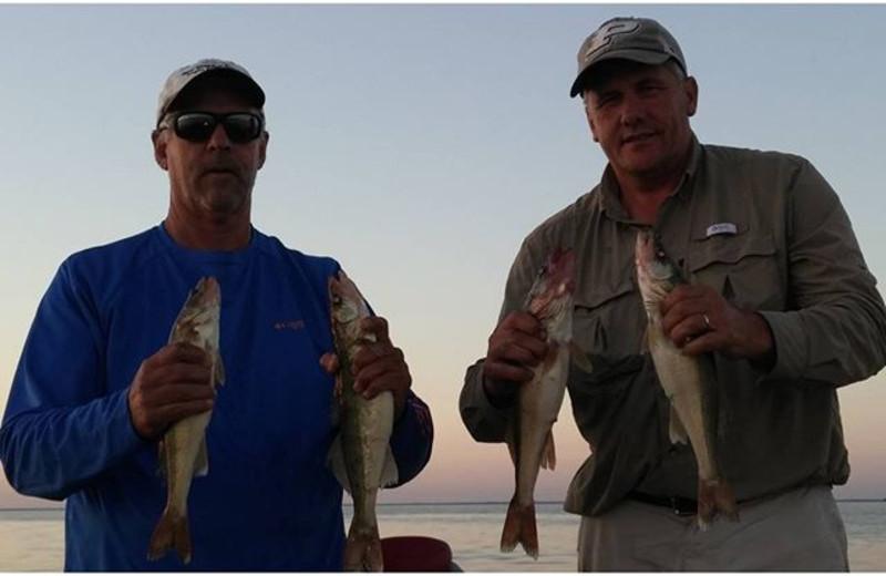 Fishing at Beauty Bay Lodge & Resort