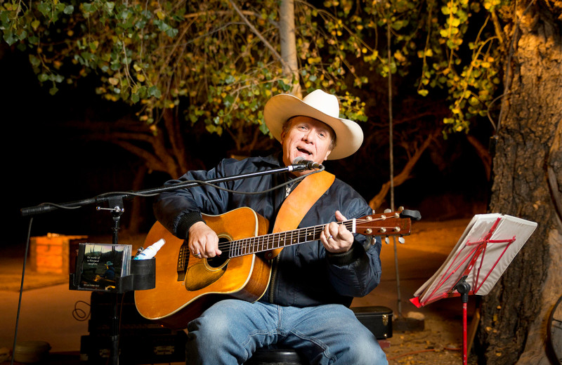 Live music at Tanque Verde Ranch.