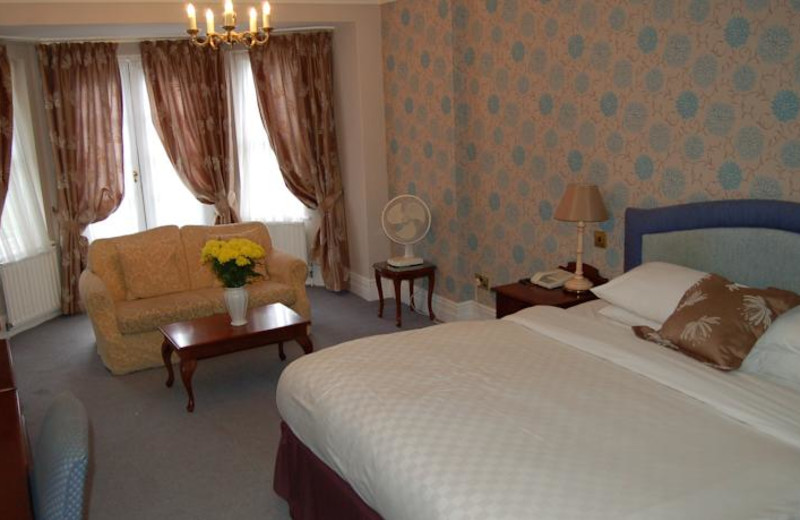 Guest room at Swallow Belstead Brook Hotel.