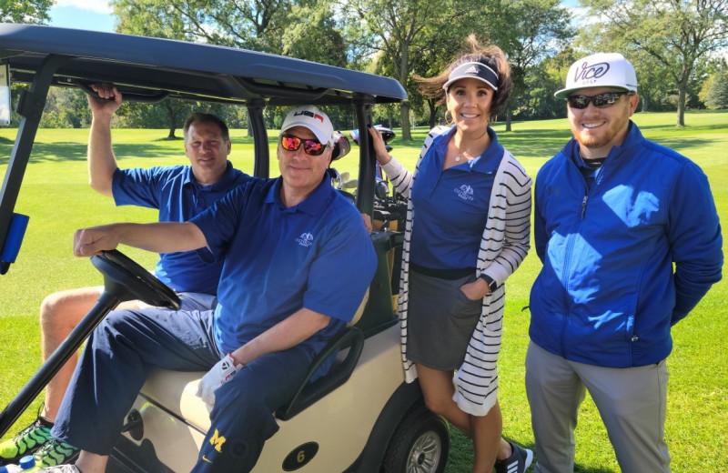 Golf at The Osthoff Resort.