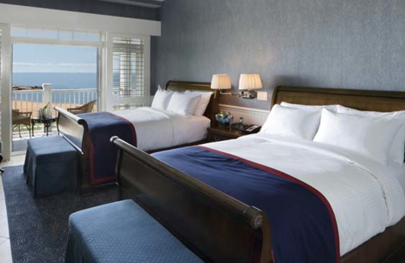 Double guest room at Madison Beach Hotel.