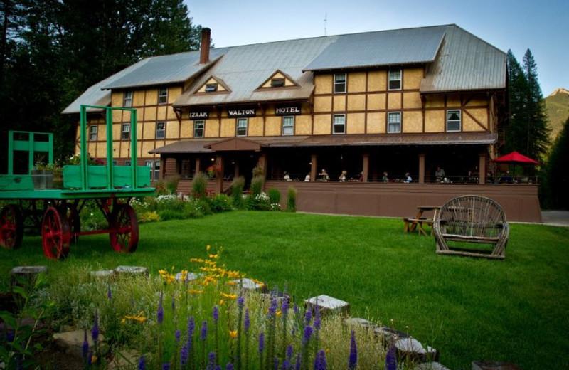 Exterior view of Izaak Walton Inn.
