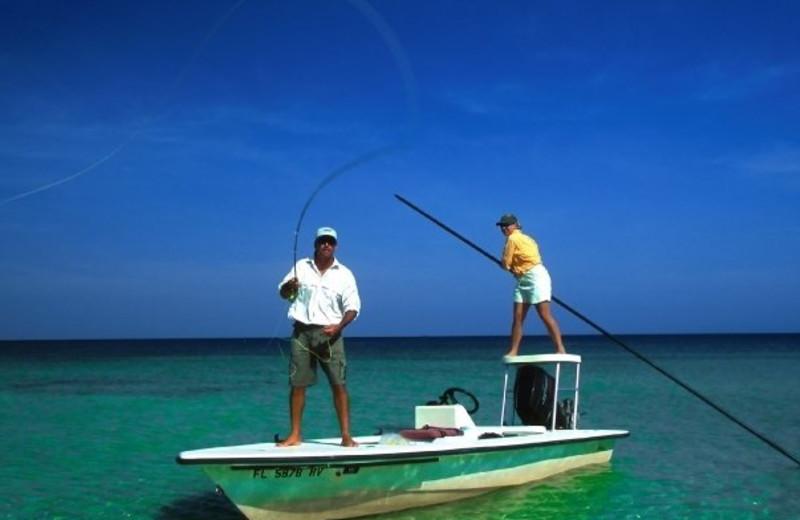 Fishing at The Banyan Resort.